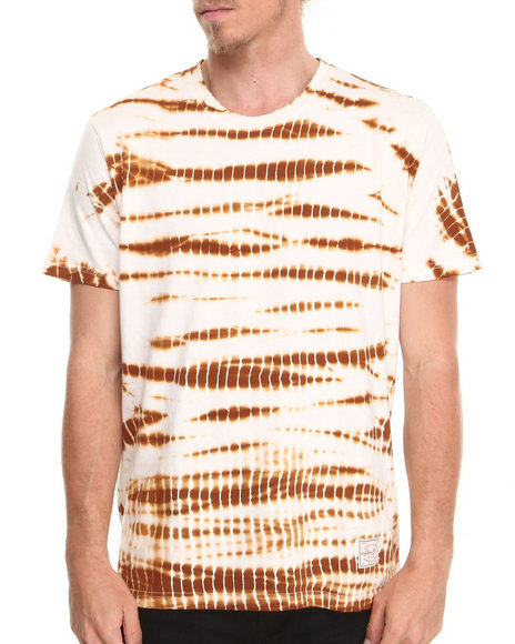 AKOO Gold,White Ol' School Tie Dye S/S Knit