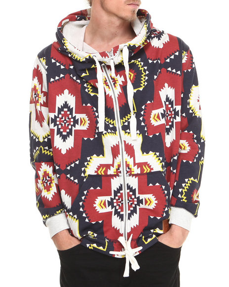 Allston Outfitter - Men Multi Grand Navajo Hoodie
