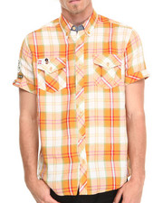 AKOO - Roller Rink Plaid S/S Button-Down
