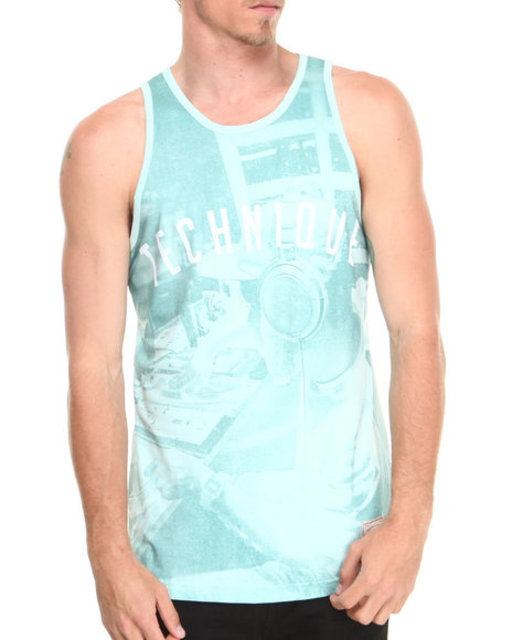 Akoo - Men Green Technique Tank - $23.99