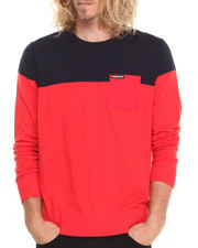 Sweatshirts & Sweaters - Color Block Cotton Sweater