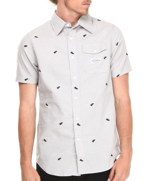 Parish Grey Rushmore S/S Button-Down