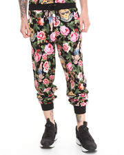 Sweatpants - Angelic Rich Floral Sweatpants