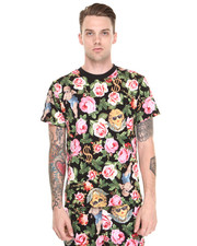-FEATURES- - Angelic Rich Floral Tee