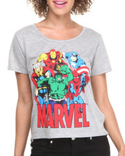 Graphix Gallery - Marvel Drapey Tee
