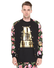Jackets & Coats - Angelic Rich Floral Athletic Jacket
