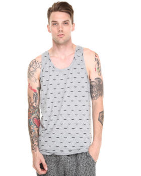 Shades of Grey by Micah Cohen - Moustache Tank