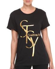 Stussy - STSY Cuff Crew Tee