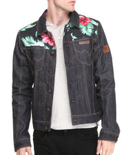 Two Angle Clothing - Yaket Denim Hawaii Jacket