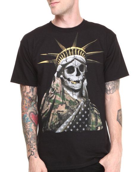 Neff Black Lady Liberty Tee