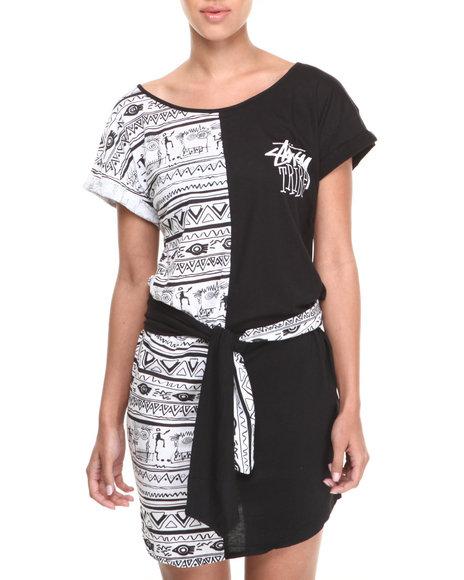 Stussy Black Stussy Tribe Dress