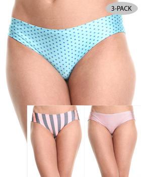 DRJ Lingerie Shoppe - Laser Cut 3-Pk Shorts