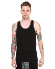 Shades of Grey by Micah Cohen - Colorblock Tank
