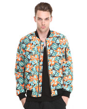 Shades of Grey by Micah Cohen - Hawaiian Bomber Jacket