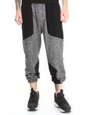 Shades of Grey by Micah Cohen - Paneled Knit Panel Pant Blackboard