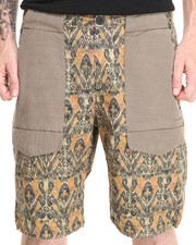 Shades of Grey by Micah Cohen - Drawcord Hem Field Short