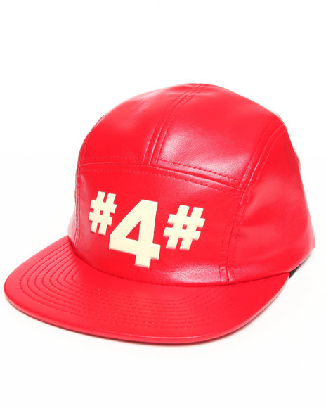 Hall Of Fame #4# 5-Panel Cap Red