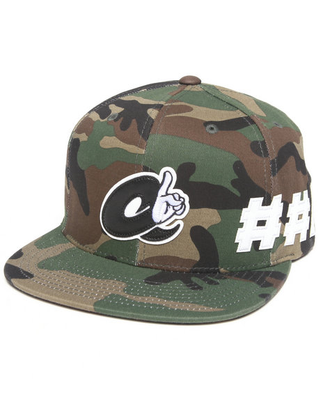 Hall Of Fame A#1 Snapback Cap Camo