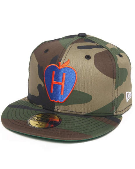 Hall of Fame Camo Hall Of Fame Big Apple New Era Fitted Cap
