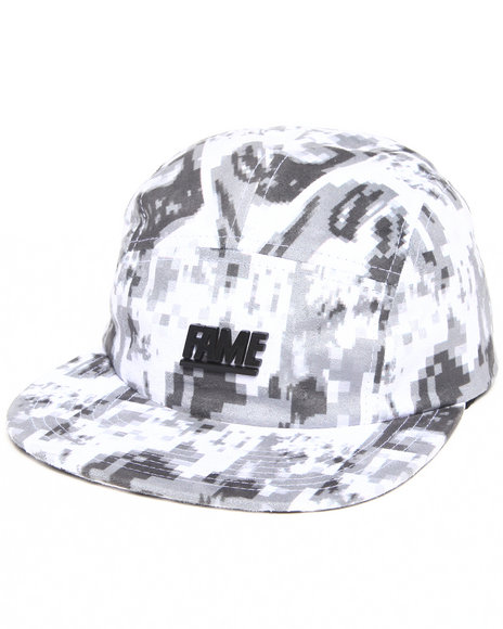 Hall Of Fame Metal Block Namath 5-Panel Cap Multi