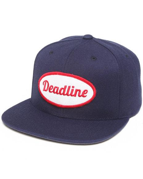 Deadline Work Snapback Cap Navy