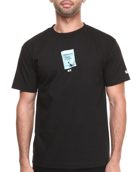 Hall of Fame Black The Bag Tee
