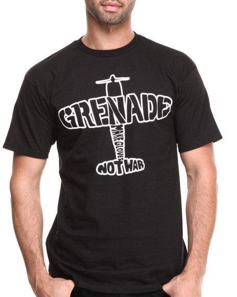 Grenade Black Tailspin Tee