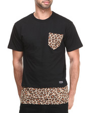 Shirts - Trim Layered Premium Animal Tee
