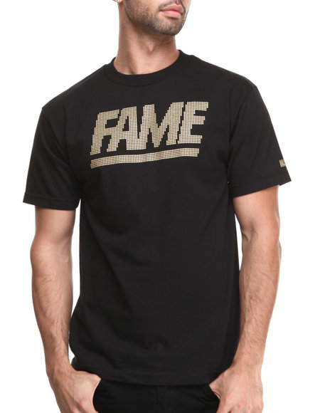 Hall of Fame Black Fame Block Jumbotron Ewing Tee