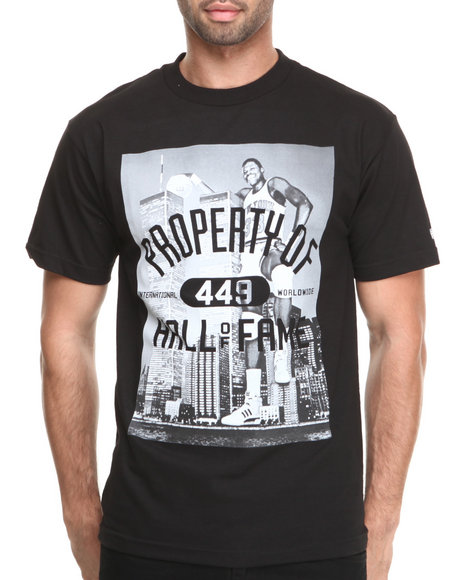 Hall of Fame Black Knockout 9.0 Tee