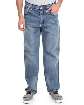 Akademiks - Pulse Thick Stitch Signature fanback denim jeans