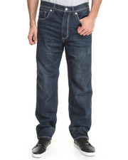 Akademiks - Pulse Thick Stitch Signature fanback denim jeans