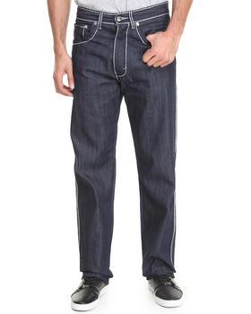 Akademiks - Thick Stitch Signature Rolodex Denim pants