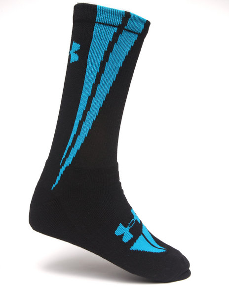 Under Armour Ignite Crew Socks Black Large