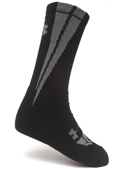 Under Armour Ignite Crew Socks Grey Large