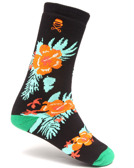 Cayler & Sons Black Menehune Premium Socks