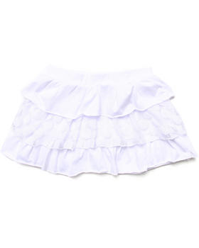 La Galleria - TIERED RUFFLE SKIRT (7-16)