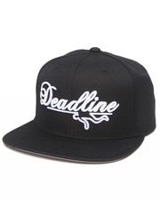 Deadline - Script Logo Snapback Cap