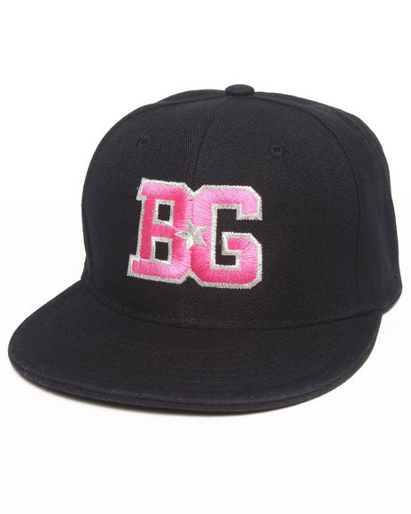 Birthday Girl Bg Snapback Hat Black