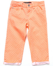La Galleria - POLKA DOT CAPRI PANTS (7-16)