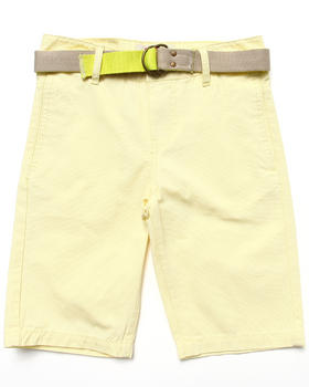 Levi's - BEACH COMBER BELTED FLAT FRONT SHORTS (8-20)