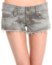 Women - Bobby Camo Shorts