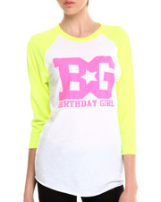 Birthday Girl - BG 50/50 Neon Shirt