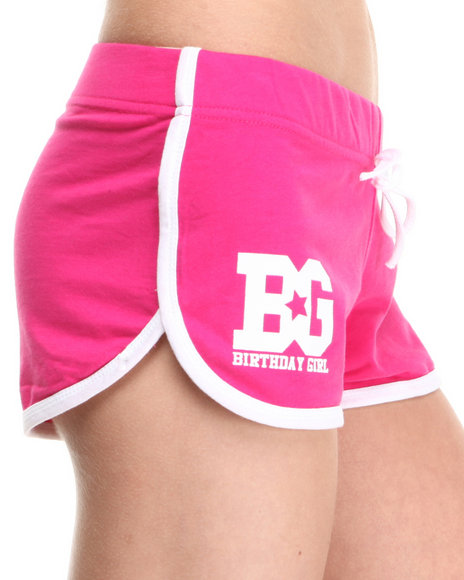 Birthday Girl Pink Bg Classic Short