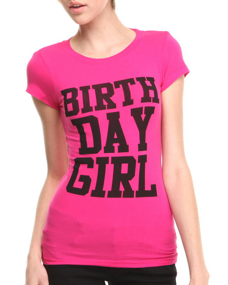Birthday Girl Pink Birthday Girl T-Shirt