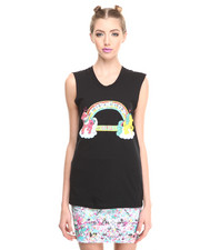 Women - Turnt Up V2 Muscle Tee