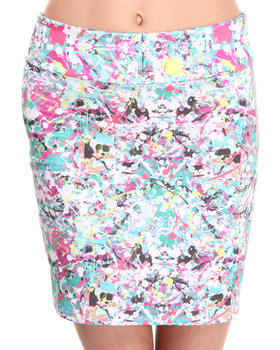 Civil - Jacksons Skirt Lips Skirt
