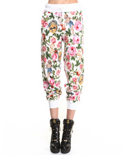 Women - Angelic Rich Floral Sweatpants