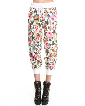 Joyrich - Angelic Rich Floral Sweatpants