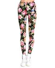 Leggings - Angelic Rich Floral Leggings